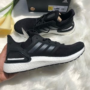 Adidas Ultraboost 20 Black Sneakers Boost 10.5